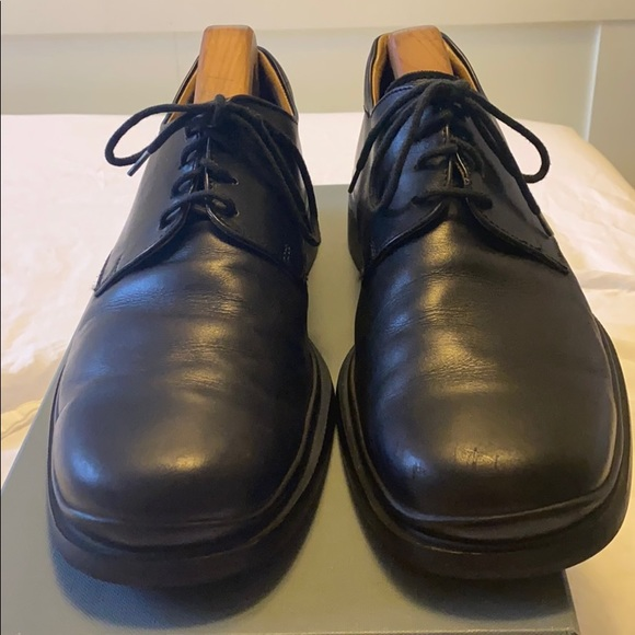 Men's Coach leather dress shoes size 9.5